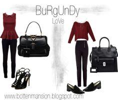 """Burgundy Love"" by bonita87 on Polyvore"