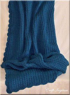 Oceana Afghan By Aleta Lyn - Free Crochet Pattern - (ravelry)