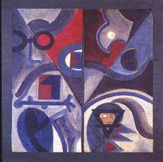 """Julius Evola, """"Senza titolo,"""" 1921"""