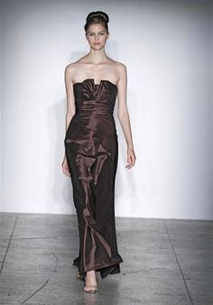 this is the bridesmaid dress, but in petal - see other amsale bm dress on this pinterest for color