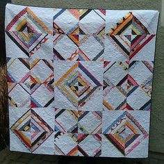 Madrona Road String Quilt by It Girl Quilts