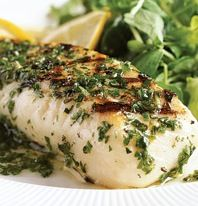 Lemon-Herb Rub for seafood, chicken, or pork prepared on the grill.