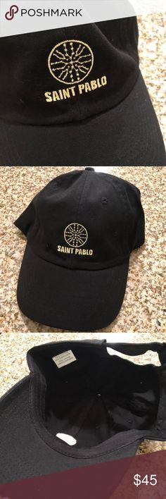 Kanye West Saint Pablo hat Authentic Kanye West Saint Pablo hat, haven't been use. Yeezy Accessories Hats