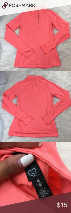 Bethany Mota pink athletic sweater size M Bethany Mota athletic sweater only used a couple of times, very stretchy! And great for a workout! Aeropostale Sweaters