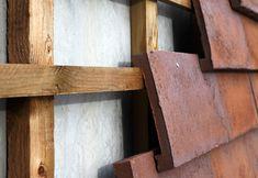 Petersen Cover by Petersen Tegl - brick / clinker brick facades - architecture at STYLEPARK Brick Facade, Facade House, Brick Houses, Brick Architecture, Architecture Details, Garage Construction, 1960s House, Clay Tiles, Designer