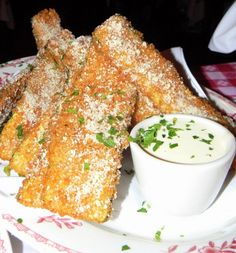 One of the Best Appetizers Ever - Maggiano's Fried Zucchini! Going to Make These at Home - Link has Recipe!