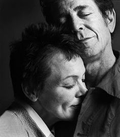 "Lou Reed eulogised by Laurie Anderson: ""He died on Sunday morning looking at the trees and doing the famous 21 form of tai chi with just his musician hands moving through the air. Lou was a prince and a fighter and I know his songs of the pain and beauty in the world will fill many people with the incredible joy he felt for life. Long live the beauty that comes down and through and onto all of us."""