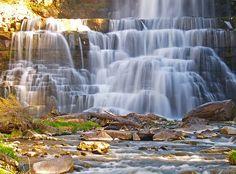 Silken Falls ~ Chittenango Falls State Park, upstate New York