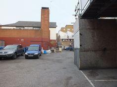 Hannington's Service Yard: as existing