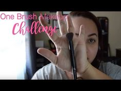 One Brush Makeup Challenge, youtube challenges, makeup challenge ideas