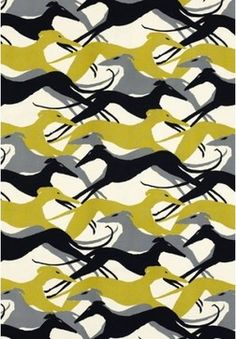 Diamond Dogs Fabric - contemporary - upholstery fabric - Covered In Style Inc