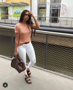 Casual outfit on Trend Cute Casual Outfits, Chic Outfits, Casual Chic, Spring Outfits, Fashion Outfits, Womens Fashion, Dress Casual, Fashion Fashion, Winter Fashion