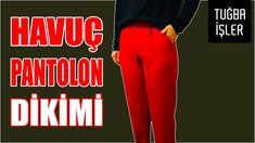 Carrot Pants Sewing - Pocket en Double Leg Damesbroeken Making (DIY) Sewing Pockets, Diys, Pajama Pants, Pajamas, Youtube, How To Make, Carrot, Crafts, Fashion