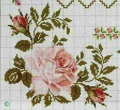 Set of 9 cross-stitch snowflakes pattern, Scandinavian style& Cross Stitch Heart, Cross Stitch Flowers, Crochet Stitches Patterns, Embroidery Patterns, Cross Stitch Designs, Cross Stitch Patterns, Cross Stitching, Cross Stitch Embroidery, Flower Chart