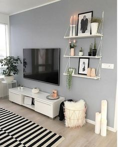 30 affordable apartment living room design on a budget .- 30 affordable apartment living room design ideas on a budget - Design Living Room, Boho Living Room, Living Room Grey, Living Room Decor, Cozy Living, Bedroom Decor, Bedroom Ideas, Barn Living, Bohemian Living