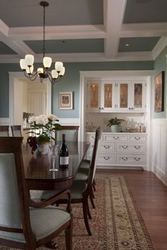 Traditional Dining Photos Wet Bar In Dining Room Design, Pictures, Remodel, Decor and Ideas - page 25