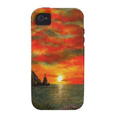 Red Sunset iPhone 4/4S Covers
