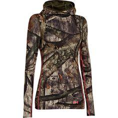 Under Armour Womens Camo Big Logo Pullover Hoodie-777270 - Gander Mountain