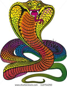 Find Iridescent Rainbow Cobra Vector stock images in HD and millions of other royalty-free stock photos, illustrations and vectors in the Shutterstock collection. Thousands of new, high-quality pictures added every day. Snake Drawing, Snake Art, 15 August Picture, King Cobra Snake, Cobra Tattoo, Cobra Art, Cute Snake, Animal Doodles, Black Eagle