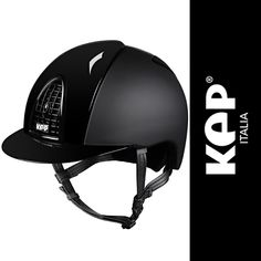 KEP Cromo T Textile Safety Hat - Featuring KEP's patented air flow system to provide the rider with optimal levels of ventilation accessible through the grills located at the front of the hat.