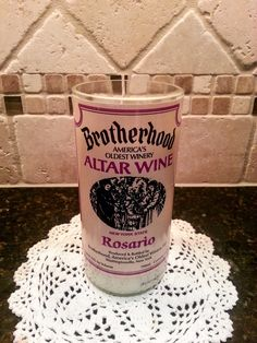 16 oz Handmade Soy Wine Bottle Candle by AshCandleShoppe on Etsy https://www.etsy.com/listing/241260911/16-oz-handmade-soy-wine-bottle-candle
