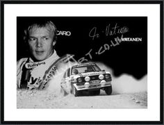 Ari Vatanen 'All or Nothing' (2) 16''x12''