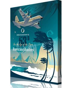 Share Squadron Posters for a 10% off coupon! 53rd Weather Reconnaissance Squadron Hurricane Hunters #http://www.pinterest.com/squadronposters/