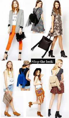 #fringed bags