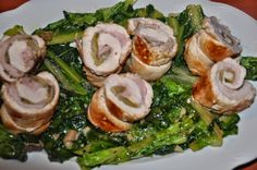 w mojej kuchni: Sałata rzymska z roladkami