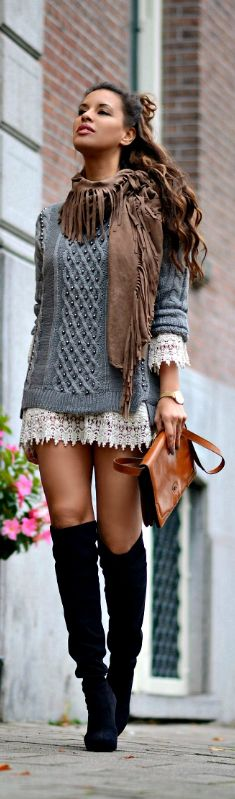 Knits and Crochet / Fashion By TC Style Clues