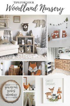 Woodland Nursery Decor Boy, Printable Woodland Wall Art, Baby Boy Nursery Art, Kids Room Wall Art, A
