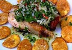 Poulet boucané - Recettes - Cuisine française Coco, Chicken, Meat, Recipes, Attitude, Guy, Poultry, Creole Cuisine, Cooking Recipes