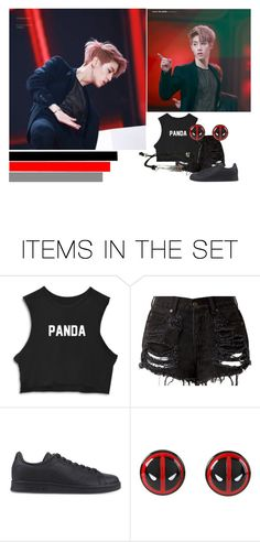 """Mark Tuan"" by cmarnoldrr ❤ liked on Polyvore featuring art"