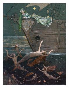 The Little Mermaid by Boris Diodorov