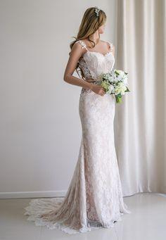 Vestido de novia/vestido de boda Backless de novia por SilkBrides