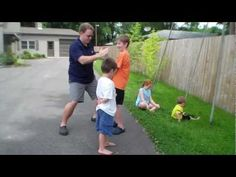 Ninja Game for lesson on Fruit of the Spirit: Self-Control