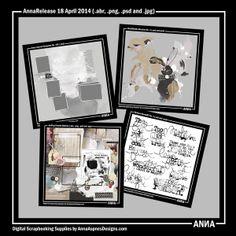 Oscraps :: Shop by Designer :: Anna Aspnes Designs :: AnnaRelease 18 April 2014