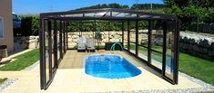 Spa Überdachung - EUROPA Schwimmbad-Überdachung Habitech AG