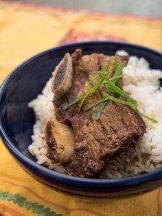 Pressure Cooker Korean Braised Beef Short Ribs