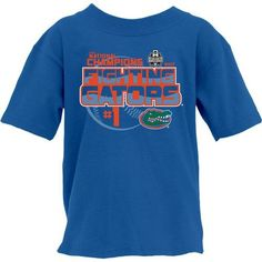Blue 84 Youth University of Florida 2017 College World Series Champions Top Dog T-shirt (Blue, Size Medium) - NCAA Licensed Product, NCAA Men's Eve...