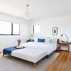 25 Bedrooms That Are Giving Us Summer Vibes - 25 Bedrooms That Are Giving Us Summer Vibes - Photos