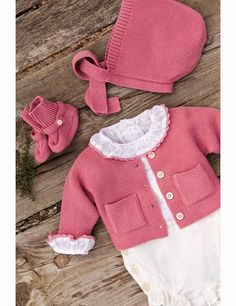 El armario de Lu by Jane: Gocco, primavera verano 2015 Bebe Baby, T Baby, Baby Kids, Knitting For Kids, Baby Knitting, Baby Girl Fashion, Kids Fashion, Baby Boy Outfits, Kids Outfits