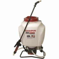Chapin 63985 4 Gallon Wide Mouth Battery Backpack Sprayer, Powered by Black Decker