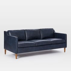 "Hamilton Leather Sofa (81"")"