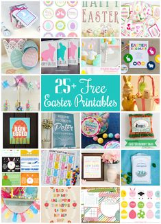25+ Free Easter Prin