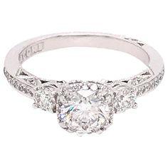 Engagement Ring Types, Pretty Engagement Rings, Tacori Engagement Rings, Pear Shaped Engagement Rings, Princess Cut Engagement Rings, Round Diamond Engagement Rings, Engagement Rings White Gold, Tacori Wedding Rings, Tacori Rings