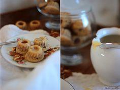 Apfel-Nuss-Gugl mit Toffee-Sauce (Rezension und Rezept)