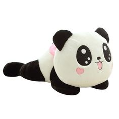 Plush Toy Giant Stuffed Animals Cute Panda Pillow Hug Bend Over Pillow Bolster Gifts