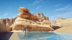 Galería de Wendell Burnette Architects diseñan hotel para el primer sitio de la UNESCO en Arabia Saudita - 1