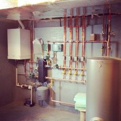 Check out this plumbing, heating system